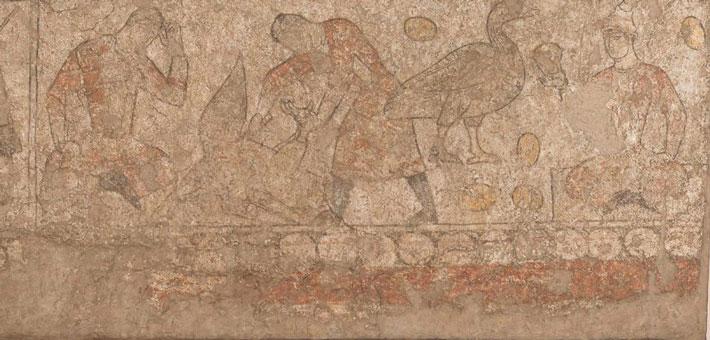 ipek yolu duvar resimleri